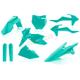 Teal Full Plastic Kit - 2421060213