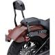 Black 14 in. Square Short Detachable Backrest Kit - 602-2049B