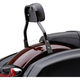 Black 11 in. Mini Detachable Backrest Kit - 602-2031B