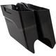 Black Left Side Down-n-Out Saddlebag - 60-160