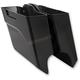 Black Left-Side Down-n-Out Saddlebag - 60-165