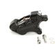 Black Front Right Ness-Tech Four-Piston Caliper - 02-223