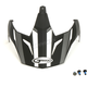 Flat Black/Dark Silver Visor for GM11S Helmets - G011088