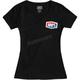 Women's Black Official T-Shirt