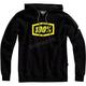 Black/Lime Syndicate Zip Hooded Sweatshirt