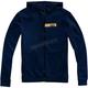 Navy/Gold Chamber Zip Hooded Sweatshirt