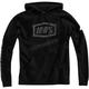 Black Occult Hooded Sweatshirt