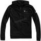 Black Regent Zip Hooded Tech Fleece
