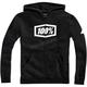 Youth Black Syndicate Zip Hooded Sweatshirt