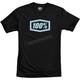 Black Essential Tech T-Shirt