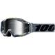 Gray Racecraft Nardo Goggles w/Silver Mirror Lens  - 50110-275-02