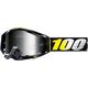 Navy/White Racecraft Bibal Goggles w/Clear Lens  - 50100-268-02