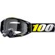 Black Racecraft Cosmos 99 Goggles w/Clear Lens  - 50100-270-02