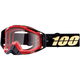 Black/Gold Racecraft Hot Rod Goggles w/Clear Lens  - 50100-274-02