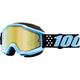 Accuri Taichi Snow Goggles w/Gold Mirror Lens - 50213-281-02
