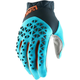 Steel Gray/Ice Blue/Bronze Airmatic Gloves