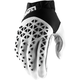 Black/White/Silver Airmatic Gloves