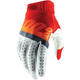 Red/Fluorescent Orange/Slate Blue Ridefit Gloves