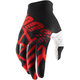 Black/Red/White Celium 2 Gloves