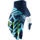Ice Blue/Fluorescent Lime Celium 2 Gloves