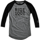Black/Gray Sanction Long Sleeve Tech T-Shirt