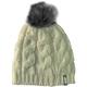 Women's Creme Fur Pom Beanie - F09001800-000-801