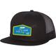 Black Petrol Trucker Hat - F09002800-000-001