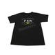Youth Black/Hi-Vis Ride Co T-Shirt