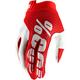 Red/White I-Track Gloves