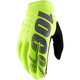 Fluorescent Yellow Brisker Gloves