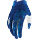 Youth Blue/navy I-Track Gloves