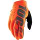Youth Fluorescent Orange/Black Brisker Gloves