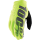 Youth Fluorescent Yellow Brisker Gloves