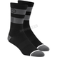 Black/Gray Flow Performance Socks