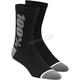 Black/Gray Rythym Merino Wool Performance Socks