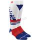 White Torque Comfort Moto Socks