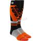 Orange/Black Torque Comfort Moto Socks