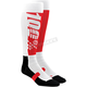 Red/Black Hi Side Performance Moto Socks
