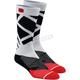 Steel Gray Rift Athletic Socks