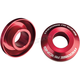 Red Fast Rear Wheel Spacers - 0222-0535