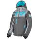 Women's Charcoal/Mid Gray/Aqua Helium FX Jacket