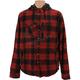 Maroon/Black Timber Plaid Insulated Jacket