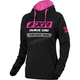 Women's Black/Fuchsia Race Division Pullover Hoody