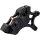 Black Front Right Ness-Tech Six-Piston Differential Bore Caliper - 02-213
