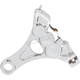 Chrome Ness-Tech Six-Piston Rear Caliper w/Bracket - 02-310