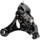 Black Ness-Tech Six-Piston Rear Caliper w/Bracket - 02-311