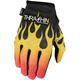 Black/Flame Stealth Gloves