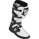 Black/White Factory Ride Boots
