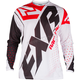 White/Black/Red Clutch Prime MX Jersey