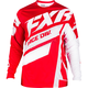 Maroon/Red Fade/White Clutch Podium MX Jersey